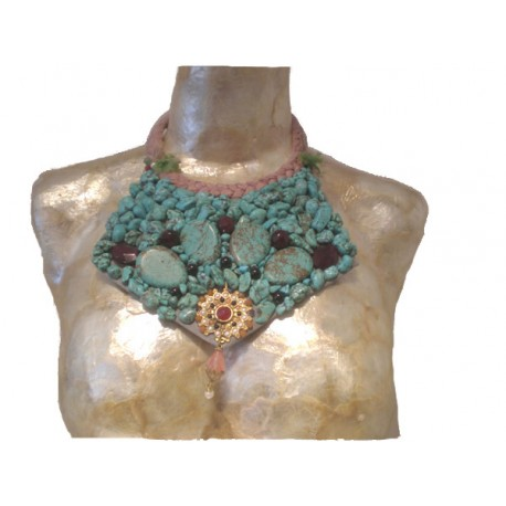 Chest & Turquoise Medallion